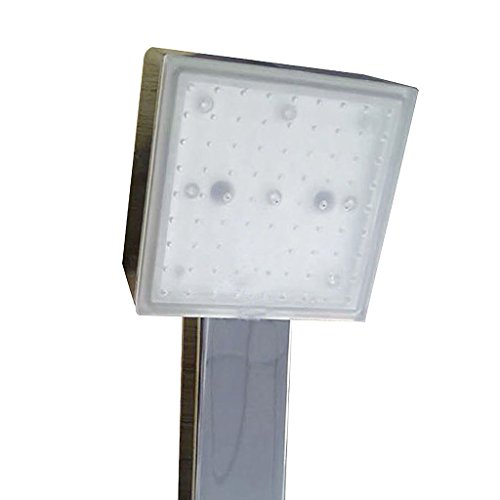 Sharplace Tête de Douche LED Couleurs Douche à Main en ABS Changement 3 Couleur Accessoire Salle de Bain WC LP8008-A4