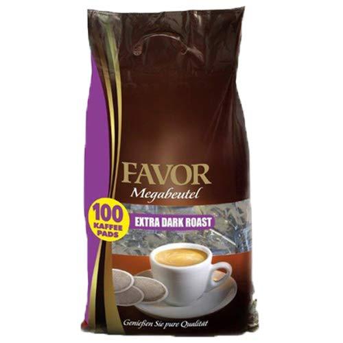 Favor - Extra Dark Roast Megabeutel - 100 pads