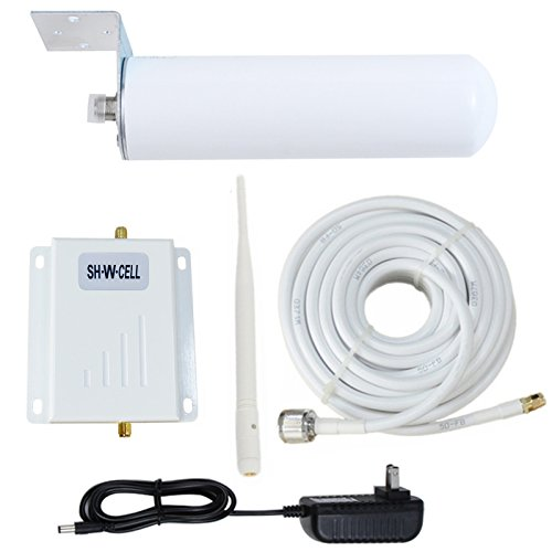 Cell Phone Signal Booster ATT T-Mobile 4G LTE Band12/17 700MHz FDD AT&T Cell Signal Booster AT&T Signal Booster Repeater ATT Mobile Phone Signal Booster Amplifier with Whip+Omni Antennas Kits for Home