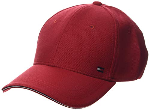 Tommy Hilfiger Herren Elevated Corporate Baseball Cap, Rot (Haute Red Xbe), One Size (Herstellergröße: OS)