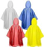 The Clean Explorer Disposable Rain Ponchos