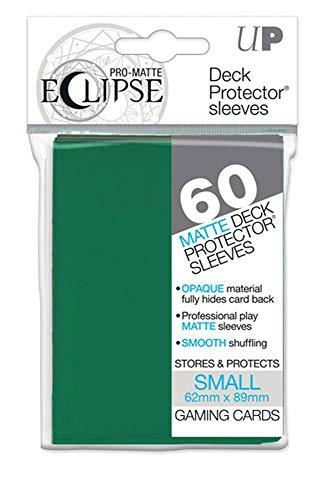 ウルトラ・プロ ECLIPSE イクリプス 非光沢 プロマット プロテクター スリーブ 60枚入り (フォレストグリーン) スモールサイズ Ultra・PRO