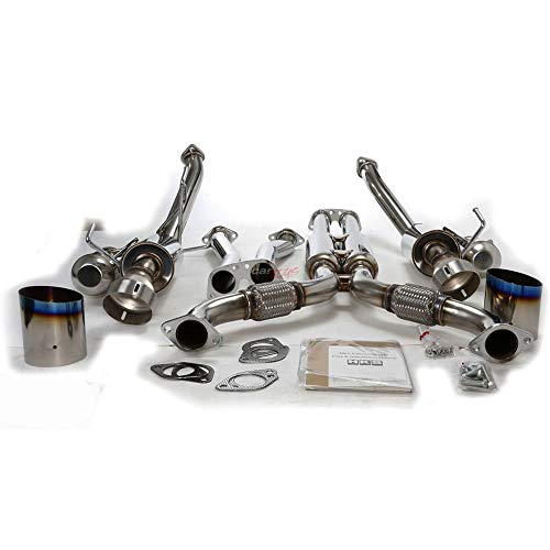 """Magnaflow 50004 Universal High-Flow Catalytic Converter Round 2/"""" In//Out"""