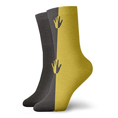 N/A Alto Rendimiento Sports Socks,Ocasionales Calcetines,Dame Cinco Hombres Mujeres Calcetín Deportivo Atlético Duradero Para Caminar Senderismo Recuperación