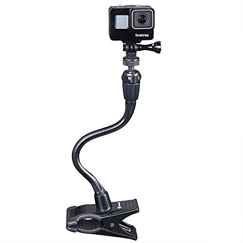 SmatreeGoPro用フレックスクランプHero8/7/6/5などアクションカメラ対応フレキシブルアームホルダー