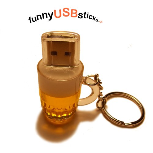 Bicchiere di birra USB Flash Drive 16 go