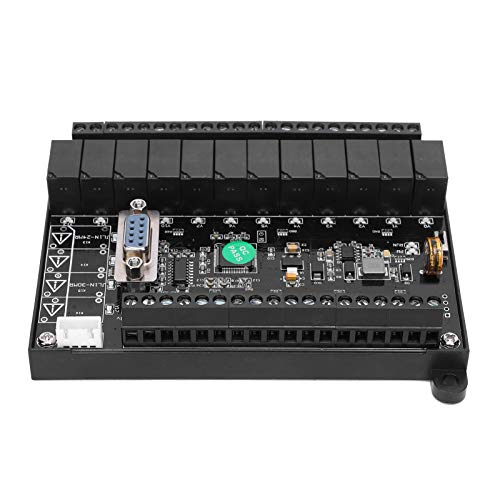 Programmable Logic Circuits DC24V PLC Control Board Programmable Controller Relay Delay Module with Analog FX1N‑24MR