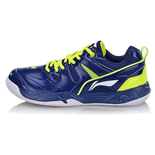 LI-NING Men Badminton Training Sports Shoes Lining Wearable Non Slip Professional Sneakers Navy 10