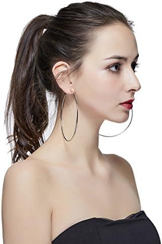 100mm hoop earrings _image0