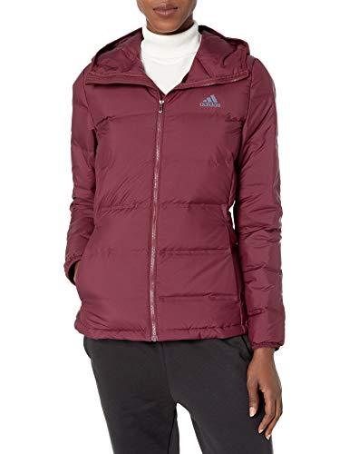 adidas Outdoor Helionic Veste à capuche pour femme Bordeaux Taille L