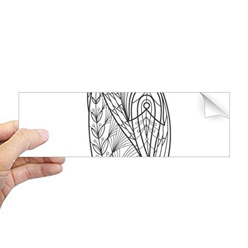 DIYthinker Grootste Vogel Verf Koude Rechthoek Bumper Sticker Notebook Venster Sticker