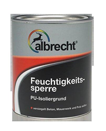 Feuchtigkeitssperre farblos 2,5L Albrecht, PU-Isoliergrund