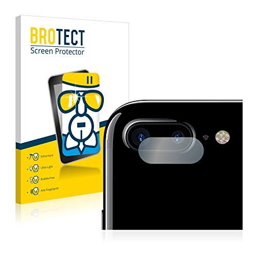 BROTECT Protector Pantalla Cristal Compatible con Apple iPhone 7 Plus (SÓLO Cámara) Protector Pantalla Vidrio - Dureza Extrema, Anti-Huellas
