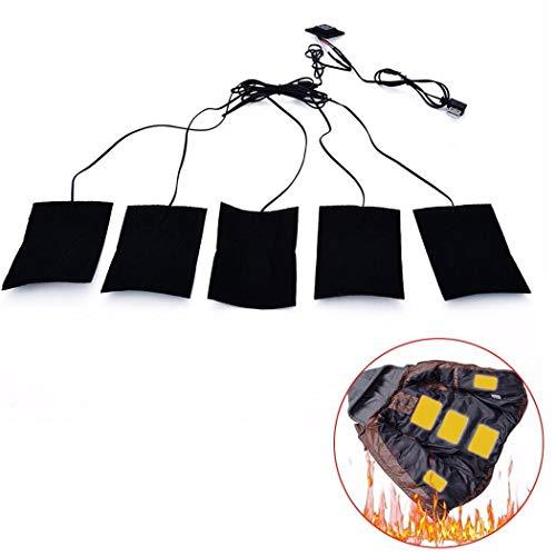 serface Pad di Riscaldamento a 3 Marce Temperatura Regolabile per Vestiti Termoforo Multifunzione Elettrico Pastiglie