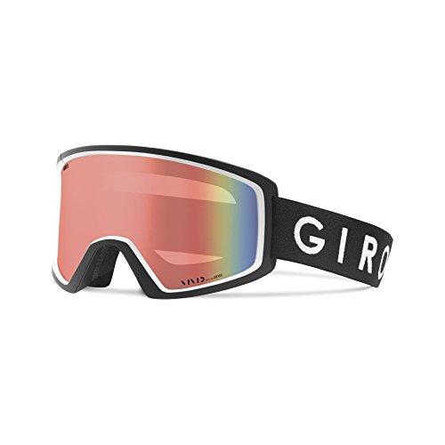 Giro Blok - Occhiali da sci da uomo, taglia unica, colore: Nero/Bianco