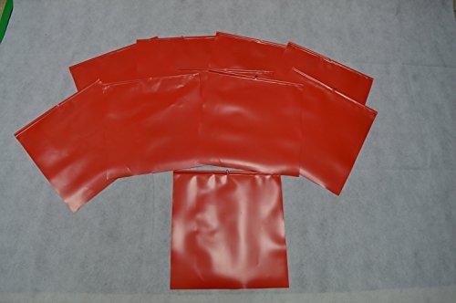 10 X Endfahne Schlussfahne Rot 30 x 30 cm Warnflagge überstehende Ladung Finne