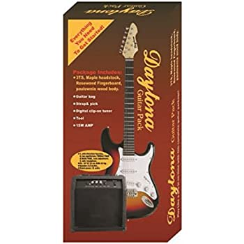 Pack guitarra eléctrica tipo Stratocaster Daytona: Amazon.es ...
