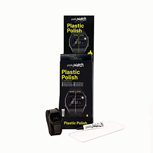 Polywatch Plastic Polish | Kunststoffpolitur Kratzer | Kratzer Entferner Uhr | Kunststoff Kratzer Entferner