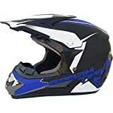 Allround Helmets Cascos de Motocross,Dot Certificado Casco de Cross de Moto Set Motocicleta Sport Integral Off-Road Enduro Downhill Casco ATV MTB BMX Quad con Gafas Máscara Guantes (S, M, L, XL)