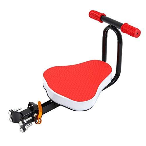 HizoeChu - Seggiolino per bici da bambino, pieghevole e ultraleggero, per bambini, per mountain bike, ibrido e fitness