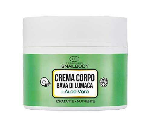 Wonder Snailbody, crema corpo idratante e nutriente alla Bava di Lumaca e Aloe Vera (200 ml) - LR Wonder Company