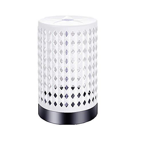 USB mug lampen huishoudelijke elektrische schok mosquito net-type muggenmelk licht uit vliegen is wit, zwart 4.5W,White
