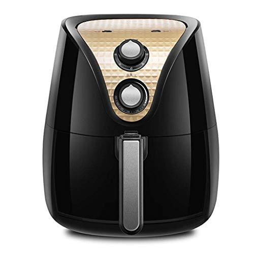 Freidora de aire Freidora de aire de 35 l Material plástico Resistente sin aceite Freidora de aire 1200 W Diseño de canasta de freír hueca de alta potencia Almohadilla antideslizante Apta para coci