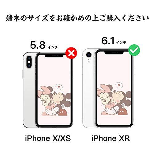 3CCartiPhoneXRケース手帳型iPhoneXR手帳型ケースかわいいディズニーミッキーマウススマホケースiPhoneXR手帳型おしゃれアイフォンXRカバー可愛い携帯ケースアイフォンXRカード収納財布型人気の携帯カバーアイフォンXR保護ケース薄型耐衝撃防水軽量高級PUレザアプリコットピンク