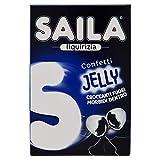 Saila Jelly - Peladillas de Regaliz, Caramelos Italianos, Confites, 40 g cada uno, Caja de 16 Paquetes
