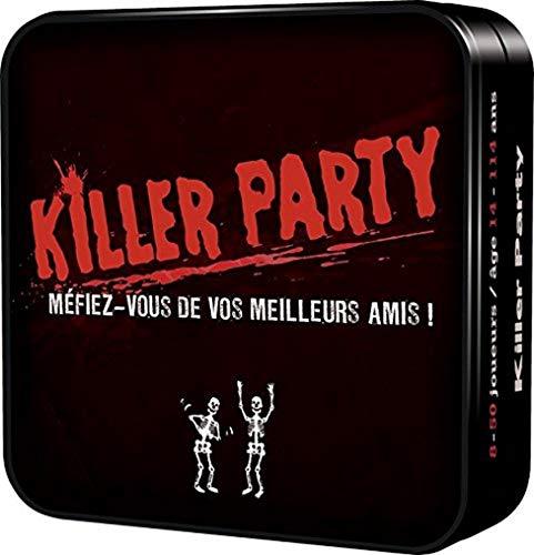 Killer Party - Asmodee - Jeu de société - Jeu d'ambiance