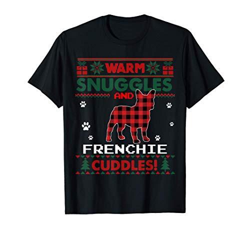 French Bulldog Christmas Pajama Shirt Ugly Christmas Sweater T-Shirt