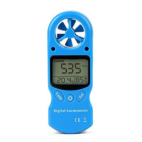 ZHLZH Windmesser Digital Anemometer/Windmessgerät Air Flow Geschwindigkeit/Mini-Multifunktions-Digitalthermometer und Hygrometer-Anemometer, Anemometer, Anemometer