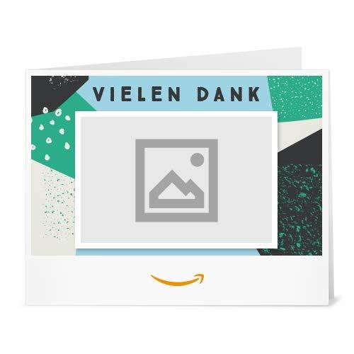 Amazon.de Gutschein zum Drucken mit eigenem Upload (Vielen Dank Kacheln)