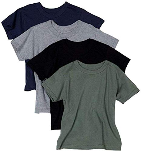 Hanes Men's ComfortSoft T-Shirt (Pack Of 4) (Assorted, XXX-Large)