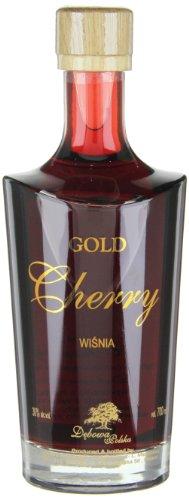 Debowa Gold Cherry Wisnia Likör, 1er Pack (1 x 700 ml)