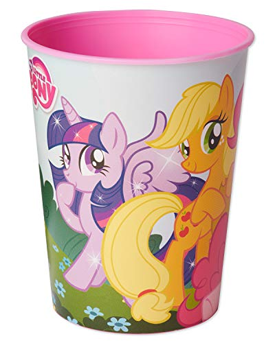 American Greetings My Little Pony Plastic Cups for Kids (12-Count)