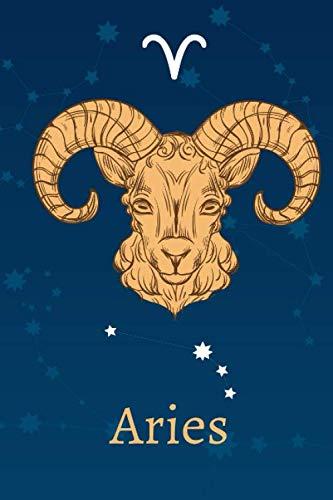 Aries: Zodiac Astrology Design Journal 6x9 (Astrology Notebook & Zodiac Gifts)