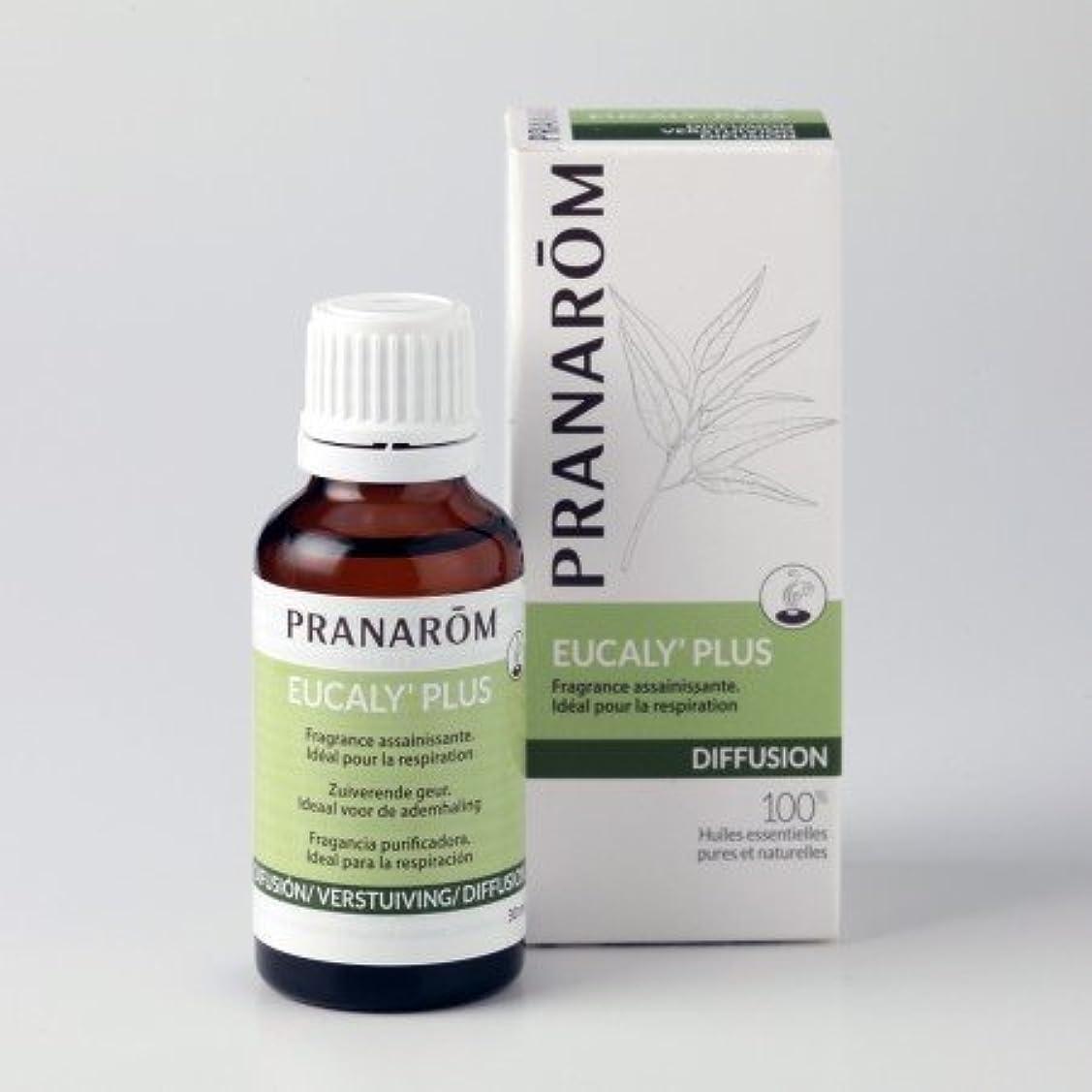チップ麦芽立証するプラナロム ( PRANAROM ) ルームコロン 胸一杯のフレッシュエア ユーカリプラス 30ml 02590 エアフレッシュナー ( 芳香剤 )