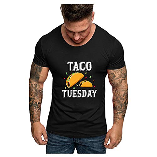 JVNSS Live Every Day Like Its Taco T-Shirt Toddler//Infant Flounced T Shirts Comfort Clothes for 2-6T Baby Girls