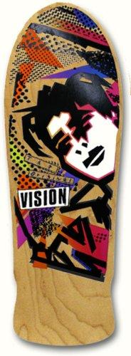 Vision Original MG Neuauflage Skateboard Deck 25,4x 76,2cm, Natur