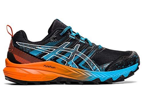ASICS Men's Gel-Trabuco 9 Running Shoes, 7.5M, Black/White