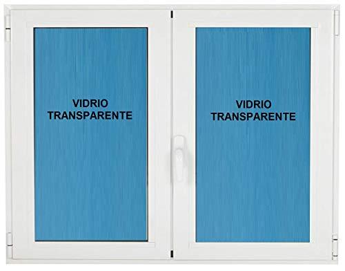 Ventana pvc 1200x1000 Practicable Oscilobatiente 2 hojas