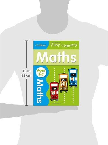 Maths Ages 5-7: Ideal for home learning (Collins Easy Learning KS1)