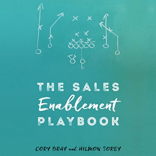The Sales Enablement Playbook audiobook cover art