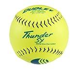 DUDLEY USSSA Thunder SY Slowpitch Classic M Stamp Softball - 12 Pack, yellow, 12-inch (4U541YA)