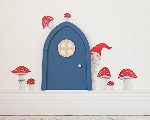 TinyFoxes Wandtattoo Kleiner Wichtel für die Wichteltür im Kinderzimmer