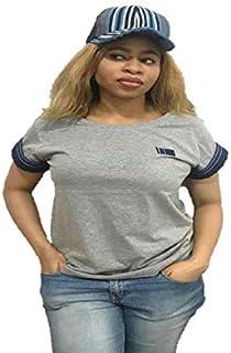 Emoltem Ladies Short Sleeve Cotton T-Shirts (Size M & L)
