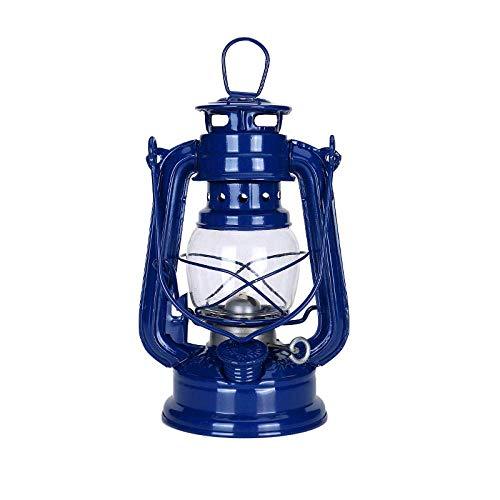Camping Lichter Camping Leuchten und Laternen Wiederaufladbare Licht 20Cm Retro Kerosene Lanternssly Lichter Jahrgang Petroleumlampe Leakproof Seal rostet nicht Outdoor-Camping-Lights-Schwarz yqaae