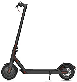 Xiaomi Mi Electric Scooter, 18.6 Miles Long-range Battery, Up to 15.5 MPH, Easy Fold-n-Carry Design, Ultra-Lightweight Adult Electric Scooter | 1 Year Warranty | Black