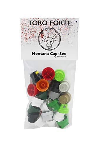 Montana Cap-Set 22 Stück STARTER PACK by Toro Forte
